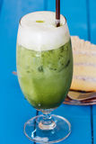 Green tea ice. Stock Images