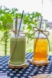 Green tea and Ice tea Royalty Free Stock Photography