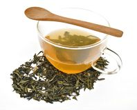 Green Tea Infusion Stock Images