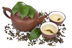 Green tea isolated Royalty Free Stock Photos