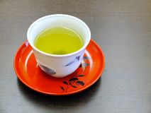 Green tea from Japan in a cup Royalty Free Stock Image
