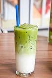 Green tea juice Royalty Free Stock Photos