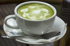 Green tea latte Royalty Free Stock Photos
