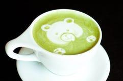 Green Tea Latte Stock Photos