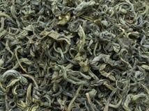 Green tea loose Stock Photo