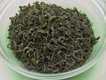 Green tea loose Stock Image