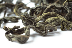 Green tea macro Stock Image