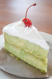 Green tea marble cake Royalty Free Stock Image