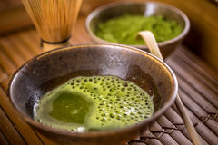Green tea matcha Stock Photography