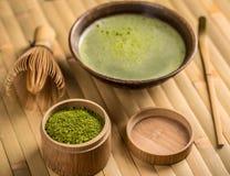 Green tea matcha Royalty Free Stock Image