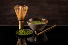 Green tea matcha Royalty Free Stock Images