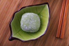 Green tea mochi Royalty Free Stock Photos