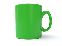 Green tea Mug Royalty Free Stock Photos