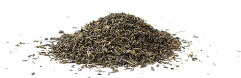 Green tea. Panoramic image. Stock Image