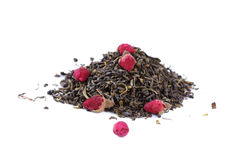 Green tea with a rose Royalty Free Stock Photos