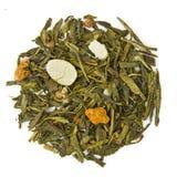 Green tea Sencha Cinnamon Royalty Free Stock Images