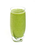 Green tea smoothie Stock Images