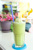 Green tea smoothie Stock Photography