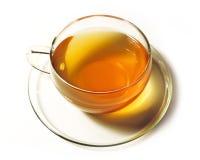 Green tea with tea bag Stock Photos