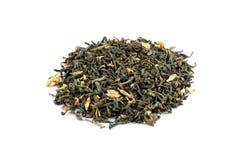 Green tea. Vietnam jasmine, a vietnamese green tea with jasmine petals Stock Photography