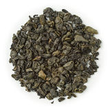 Green tea Zucha gunpowder Stock Image