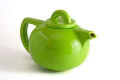 Green Teapot Royalty Free Stock Photo