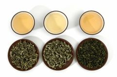 Green teas Royalty Free Stock Images