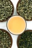 Green teas Stock Photography