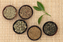 Green Teas Royalty Free Stock Photos