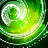 Green tech pattern Stock Photography