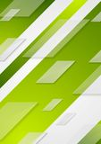Green tech vector flyer background Stock Photo