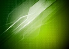 Green technical background Royalty Free Stock Image
