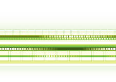 Green techno background. Abstract green technological background. Vector Royalty Free Stock Photos