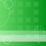 Green techno background Royalty Free Stock Photos