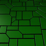 Green techno background Royalty Free Stock Photography