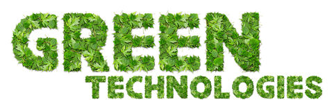 GREEN technologies Royalty Free Stock Image