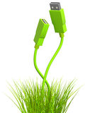 Green technology. Conceptual image - green technology. 3d Stock Images