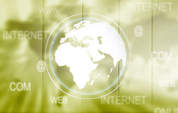 Green technology background Stock Images