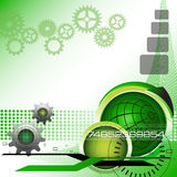 Green technology background royalty free stock images