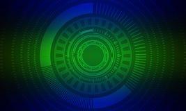 Green, Technology, Circle, Text royalty free stock image