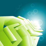 Green technology design wallpaper Stock Photo