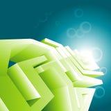 Green technology design wallpaper Stock Photo