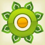 Green technology icon Royalty Free Stock Photography