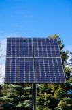 Green technology, solar panel Royalty Free Stock Images