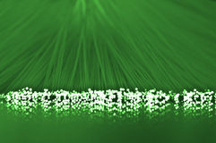 Green telecommunications and reflections Stock Photo