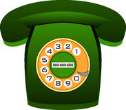 Green, Telephony, Technology, Font royalty free stock image