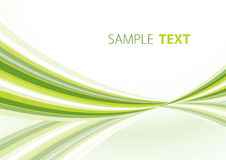 Green template Royalty Free Stock Photography