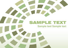 Green template Royalty Free Stock Image
