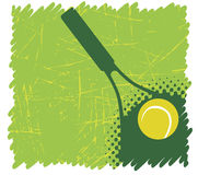 Green tennis background Royalty Free Stock Photo