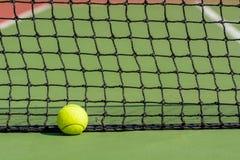 Green tennis ball Stock Image